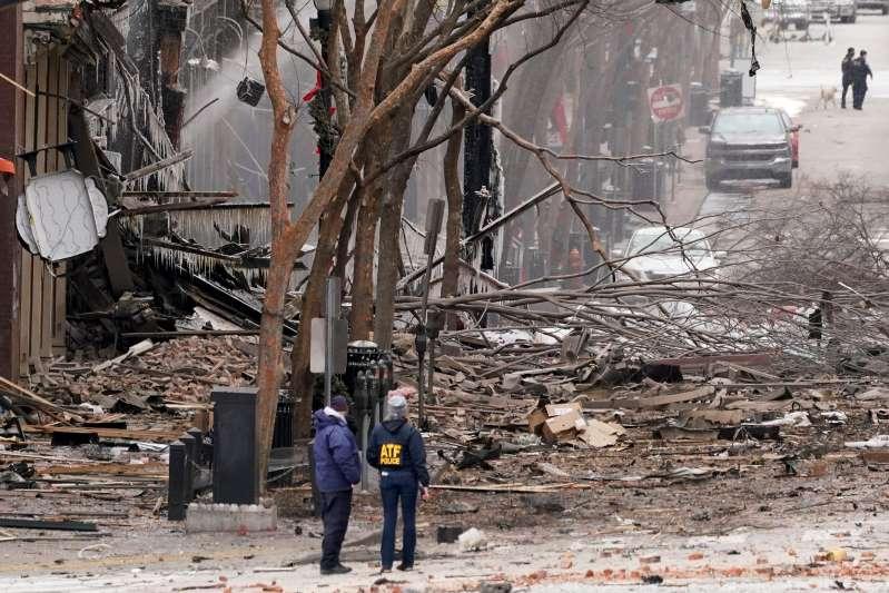 FBI investiga si un posible sospechoso del atentado de Nasville. Dicen estaba paranoico por la tecnología 5G