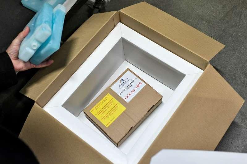 La cepa británica de Covid detectada en Francia en víspera de la vacunación