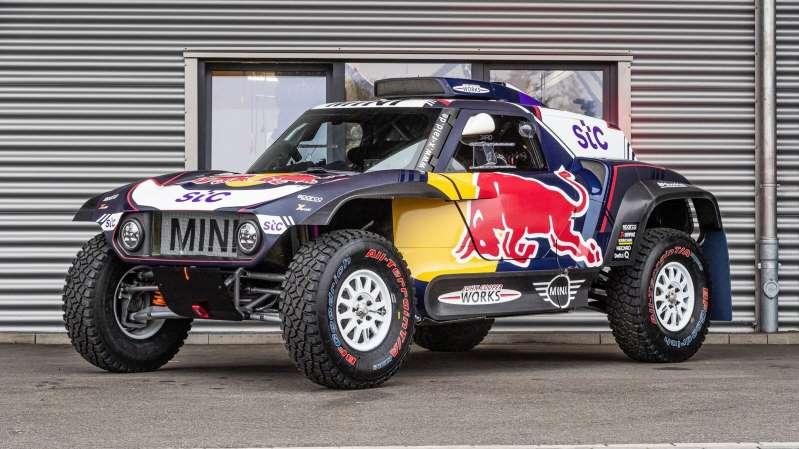 MINI JCW Buggy: el enérgico y capaz auto de carreras para el Rally Dakar 2021