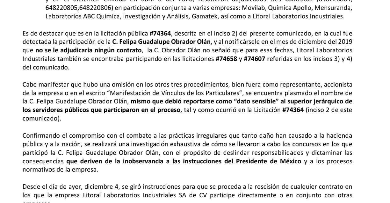 Pemex acepta corrupción de parte de la prima de López Obrador y exhibe los contratos que la involucran