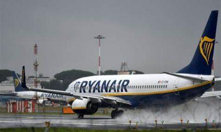Ryanair cancelará la mayoría de los vuelos entre el Reino Unido y Europa hasta el 3 de enero