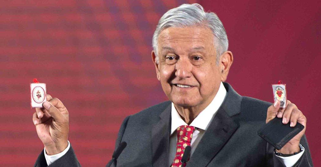 Presidente de México da positivo a COVID-19. USABA amuletos (No funcionaron). DECÍA QUE SOLO DABA A CORRUPTOS.