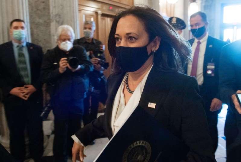 Kamala Harris renunciará al Senado mañana lunes