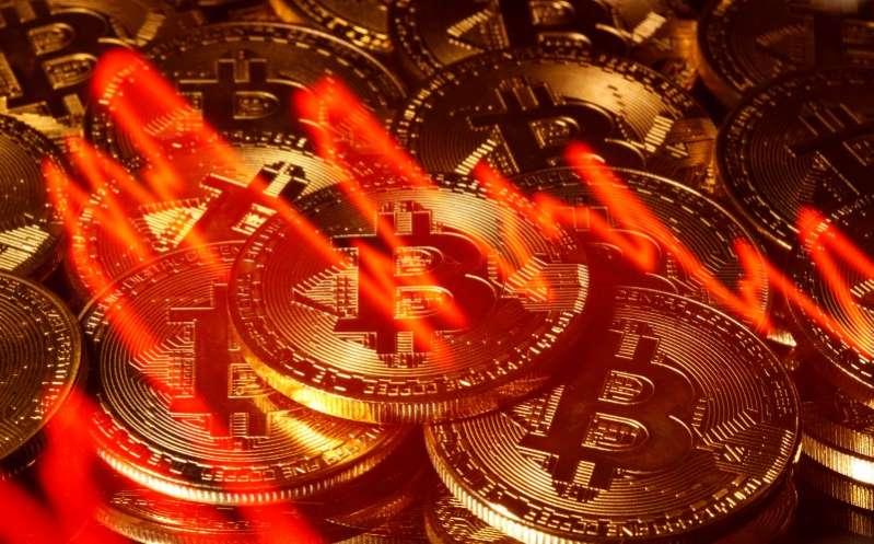 #Bitcoin cae más de un 5% tras superar los 40.000 dlrs por primera vez
