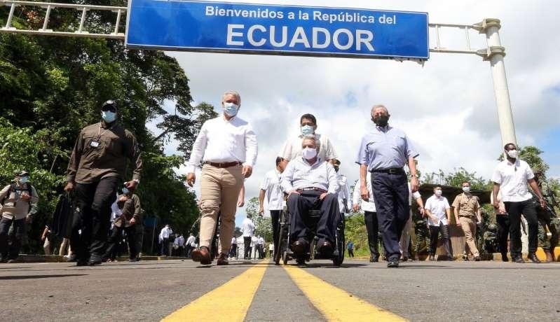 Ecuador y Colombia refuerzan la cooperación y rechazan la situación de Venezuela