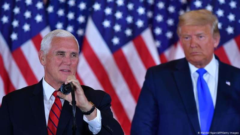 Trump y Pence forman frente para evitar la destitución