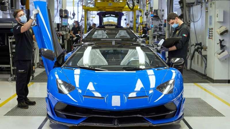 Aun con la pandemia, Lamborghini impone récord de ventas en 2020