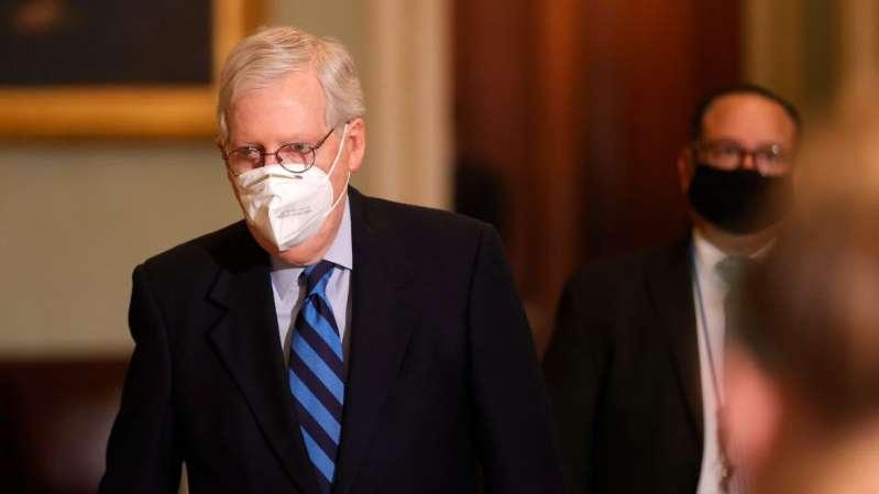 El líder republicano en el Senado se enfrenta a Trump y lo acusa de provocar el asalto al Capitolio