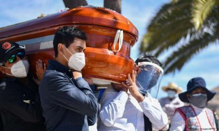 México anotó nuevo récord diario de muertes por COVID-19