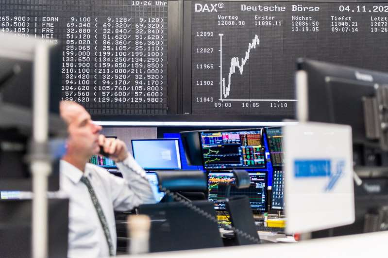 Las bolsas europeas bajan tras los malos augurios del Banco Central Europeo