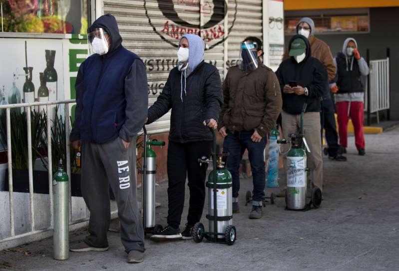 En México Se complica conseguir oxígeno ante repunte de COVID