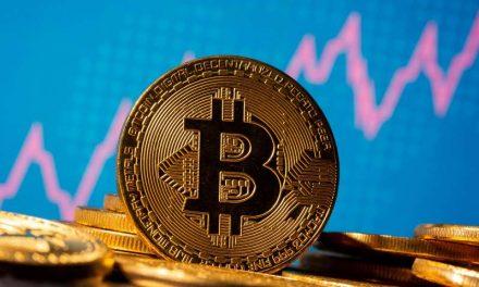 #bitcoin cotiza cerca de su récord de 34.800 dólares tras subir un 800% desde marzo