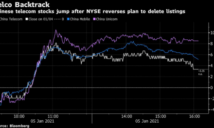 NYSE revierte plan para eliminar firmas chinas de comunicaciones