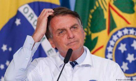 Crisis de la pandemia derrumba popularidad de Jair Bolsonaro