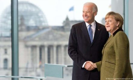 Angela Merkel invita a Joe Biden a Alemania