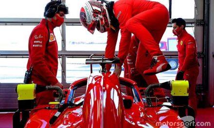 Leclerc vuelve a la acción al volante del SF71-H en Fiorano