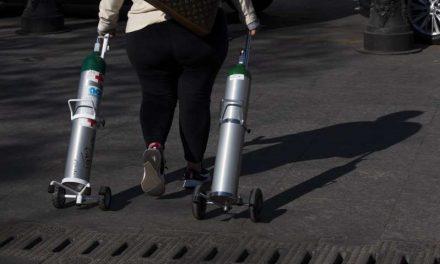 México: Para no variar, Delincuentes aprovechan alta demanda de oxígeno