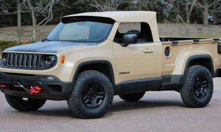 Jeep podría ofrecer un pickup más pequeño que Gladiator