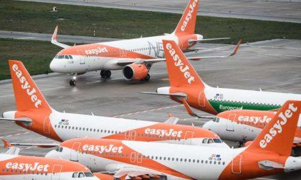 EasyJet operará solo hasta un 10 % de sus vuelos entre enero y marzo