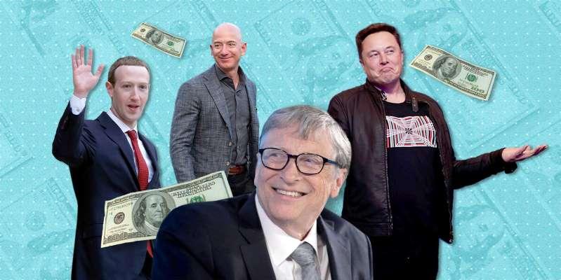 Algunos datos interesantes sobre las 20 personas más ricas del mundo