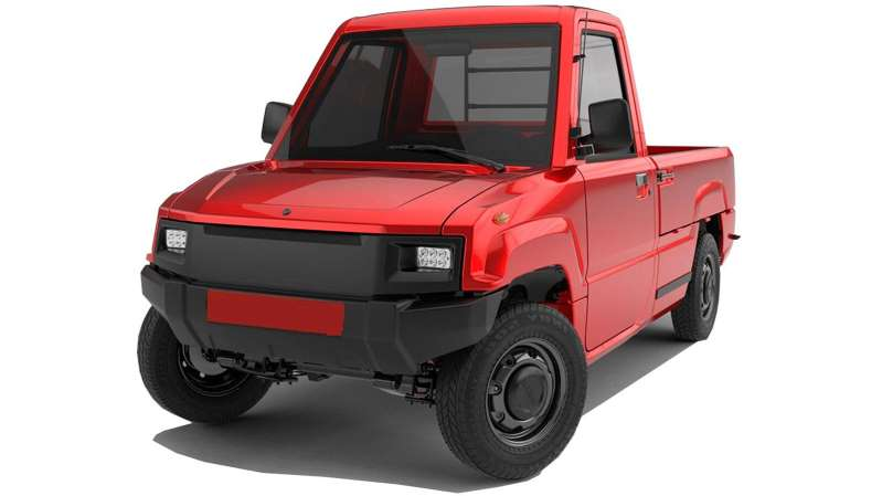 ¿Te comprarías esta pequeña pickup eléctrica? Alibaba las vende en 4,000 dólares