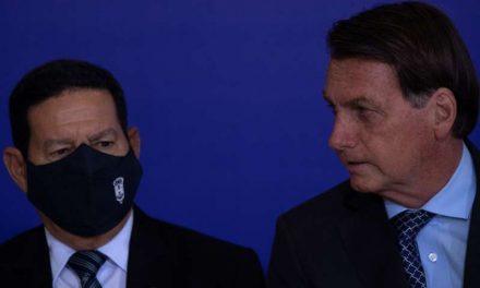 Bolsonaro se distancia del vicepresidente en medio de crecientes tensiones