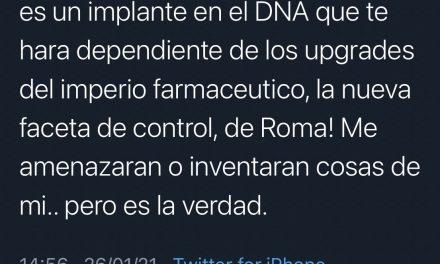 Suspenden cuenta de León Larregui en Twitter por incitar a no vacunarse contra el COVID-19