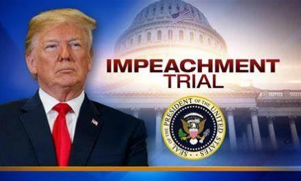 No importa el juicio político, hay muchas posibilidades de que Donald Trump termine en la corte