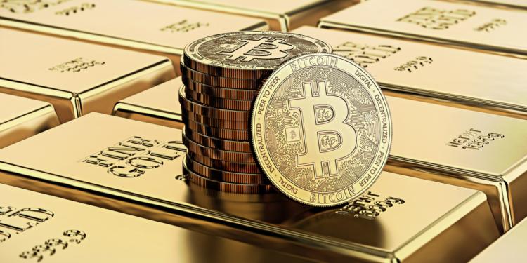 #Bitcoin alcanza un máximo histórico frente al oro mientras se desata la batalla de los activos refugio