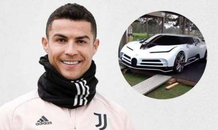 Cristiano Ronaldo, uno de los 10 exclusivos compradores del nuevo Bugatti de 8 millones