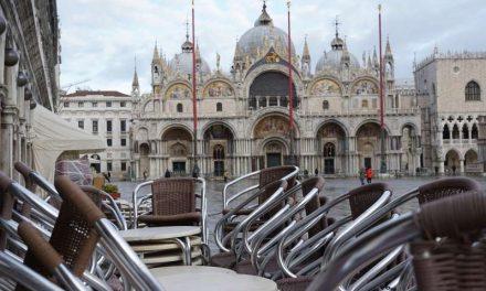 Venecia se transforma con la pandemia: calles vacías y hoteles en venta