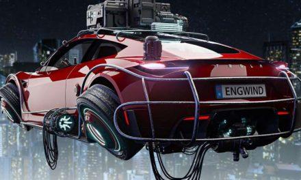 Elon Musk quiere que sus coches Tesla floten, ¿a lo DeLorean?