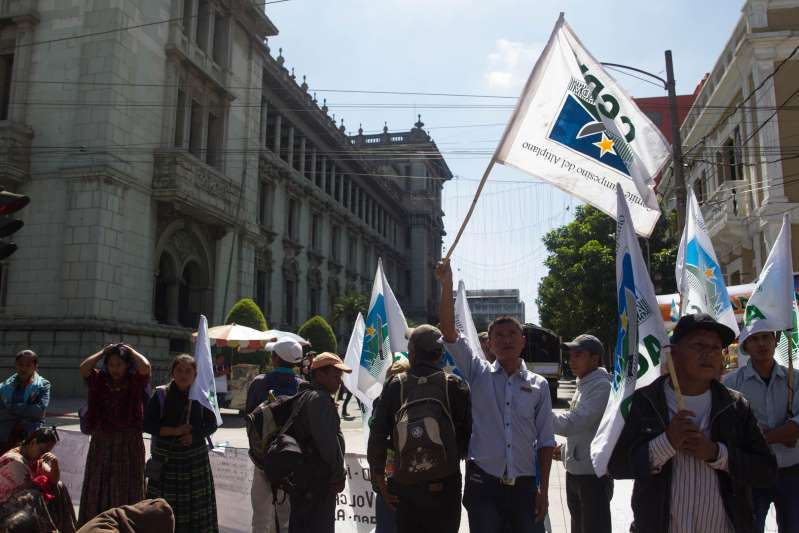 Campesinos de Guatemala anuncian la toma de las calles por el manejo de la pandemia