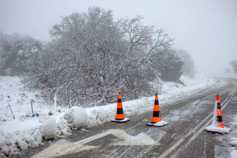 Intensa nevada afecta a varios países de Medio Oriente