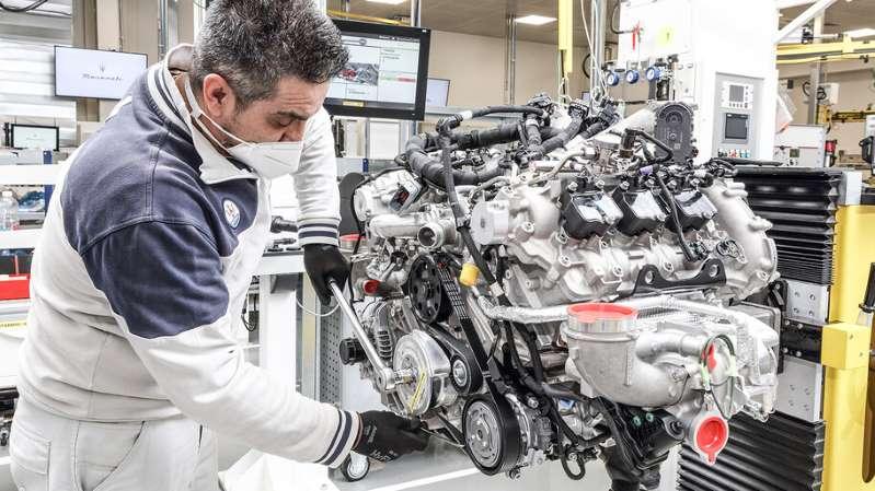 Cómo se fabrica el poderoso motor Nettuno de Maserati