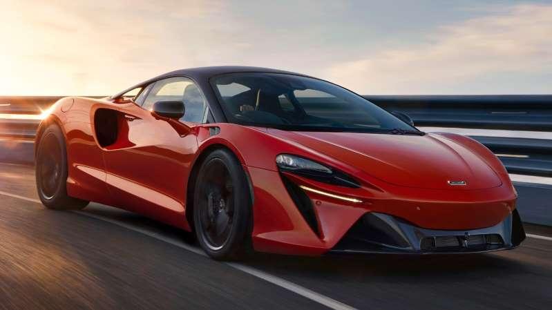 McLaren Artura: un súper auto híbrido plug-in con más de 650 hp