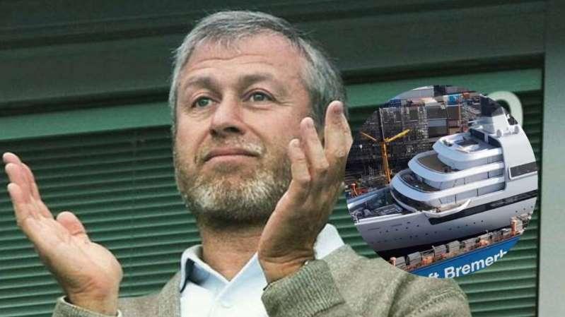 Propietario del Chelsea, Román Abramóvich se compra nuevo yate. Cuesta 500 millones. ¡Checa el video!