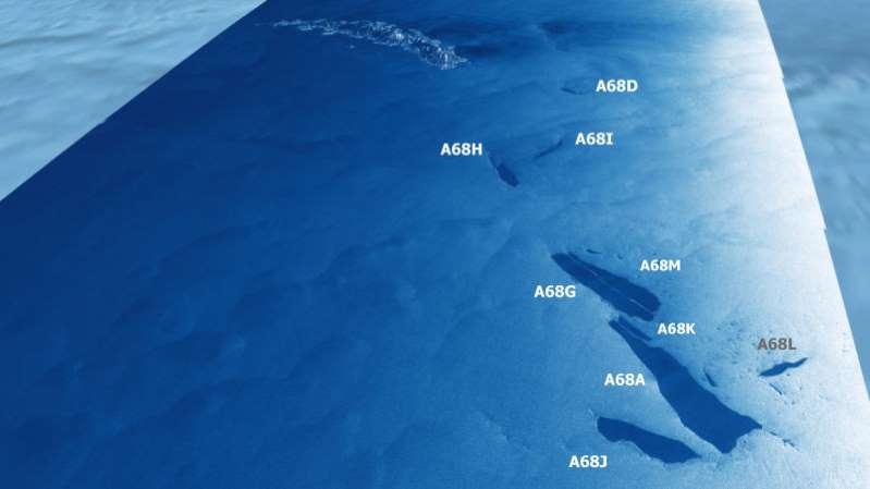 Adiós al que fue el iceberg más grande del mundo