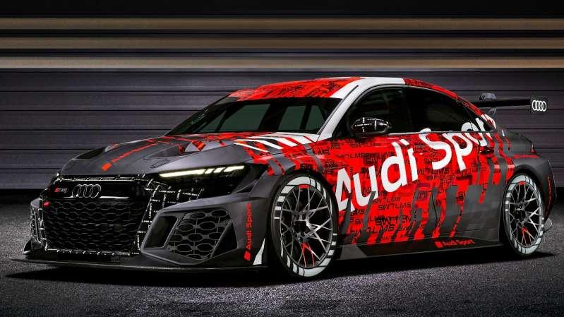 Audi RS 3 LMS: un auto de carreras mejorado en su totalidad