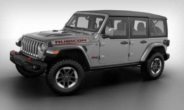 El Jeep Wrangler cuenta con nuevas medias puertas cortesía de Mopar