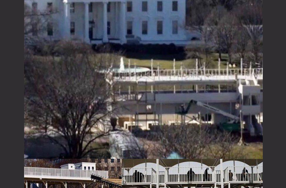 Seguidores acérrimos de QAnon creen que Donald Trump sigue siendo presidente y está llevando a cabo ejecuciones en la Casa Blanca