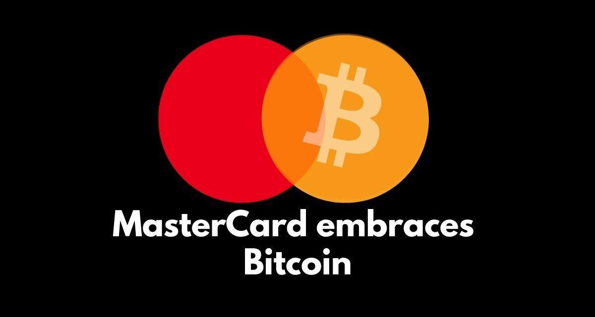 Mastercard permitirá a titulares de tarjetas transacciones con criptomonedas comlo el #Bitcoin