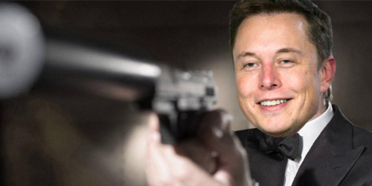 """Elon Musk quiere que Tesla Roadster tenga cohetes """"al estilo James Bond"""" para hacer que el auto flote"""