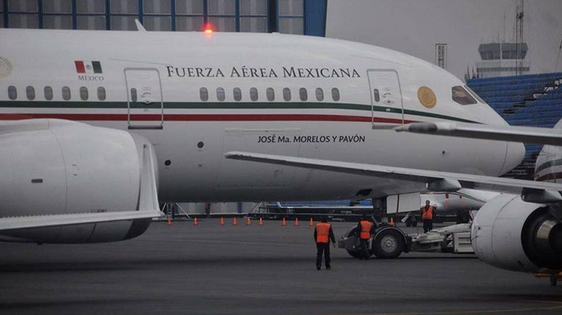 El fracasado presidente de México intenta volver a vender el avión presidencial.