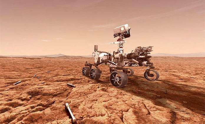 La NASA se prepara para el aterrizaje en Marte y pide al público que observe la peligrosa maniobra