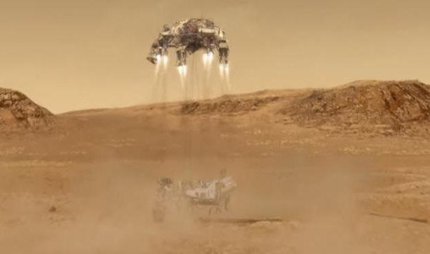 """Perseverance: Equipo de la NASA está """"asombrado"""" por la increíble imagen del aterrizaje del rover en Marte"""