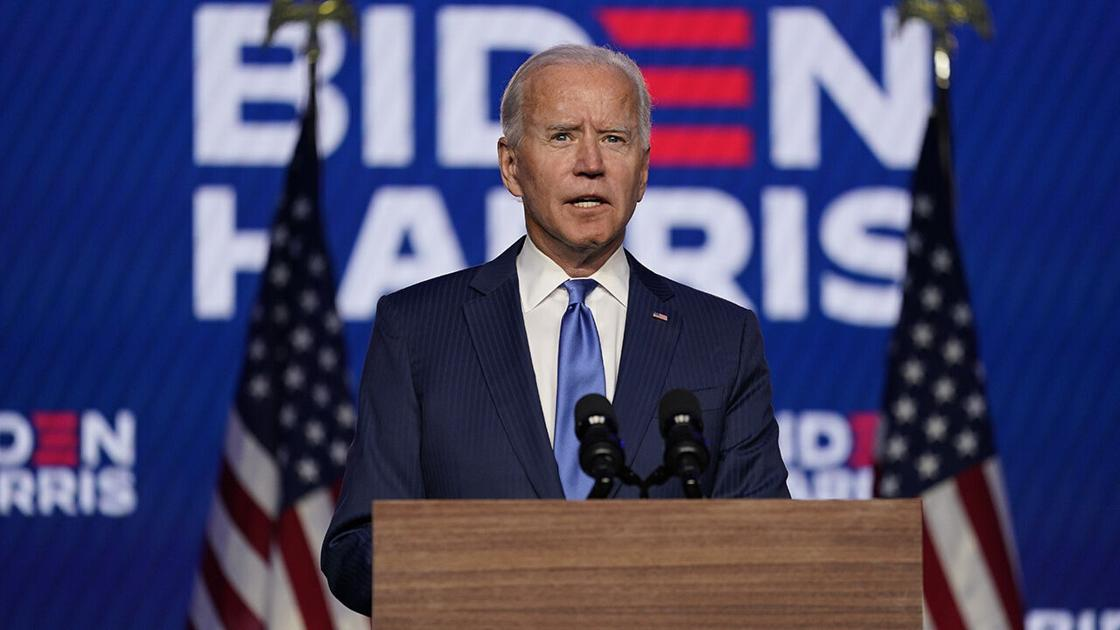 Biden gets boost with sunny COVID-19 outlook