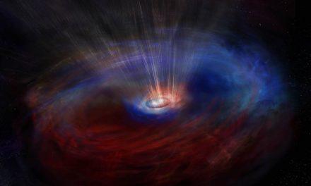 Agujero negro supermasivo se mueve a gran velocidad en el cosmos