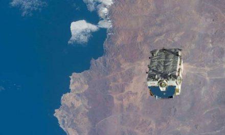 La NASA ha tenido que deshacerse de 2,9 toneladas de baterías tirándolas desde la Estación Espacial Internacional