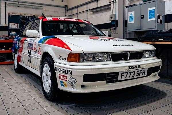 Mitsubishi remata su colección histórica antes de dejar Reino Unido